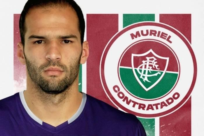 Irmão de Alisson, da Seleção, Muriel assinou por três anos e meio