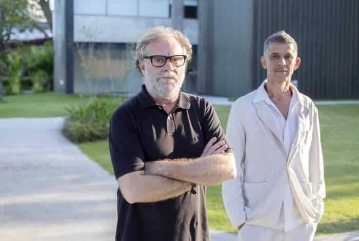 Raul e Cabelo se conheceram nas oficinas de desenho na Escola de Artes Visuais do Parque Lage, em 1988