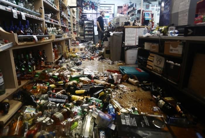 Mercados sofreram com a queda de produtos das prateleiras