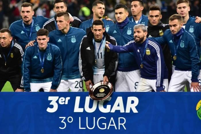 Argentina ficou em terceiro lugar
