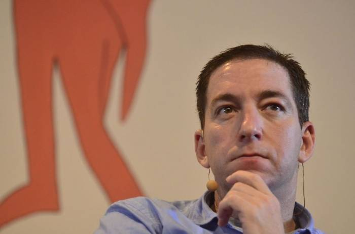 Jornalista Glenn Greenwald, do site The Intercept Brasil