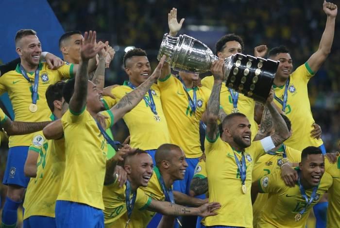 07/07/2019 - Brasil x Peru - Final da Copa America no Estadio Maracana, Rio de Janeiro - Foto: Daniel Castelo Branco / Agência O Dia
