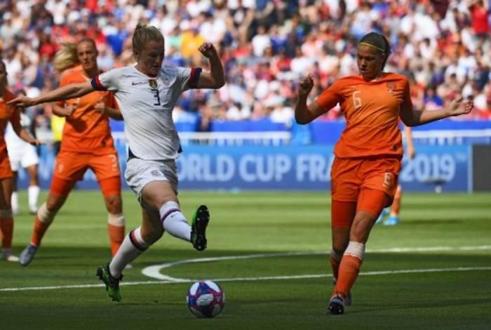EUA venceu a Holanda