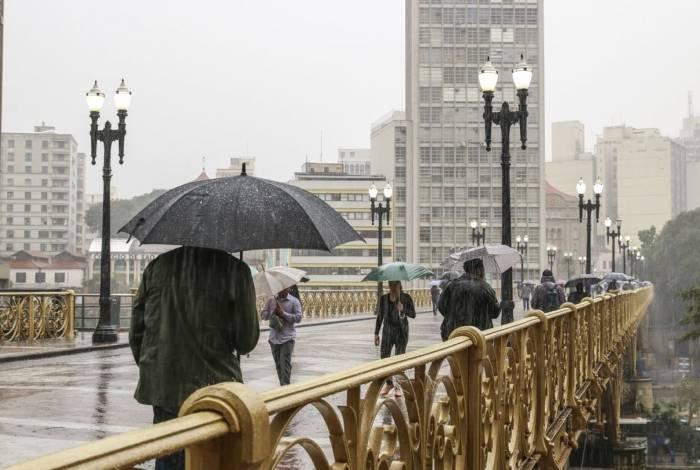 São Paulo registra menor temperatura em três anos