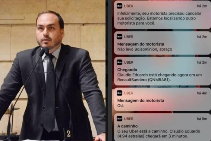 Deputado David Miranda e vereador Carlos Bolsonaro são investigados por