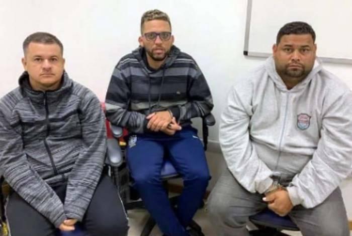 Trio foi interceptado em Japeri