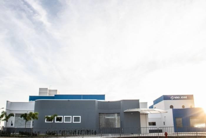 Fachada do novo prédio da UPH São José, em Goytacazes, inaugurada na sexta-feira (05) pelo prefeito Rafael Diniz