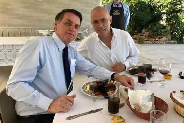 Bolsonaro almoçou com embaixador de Israel antes da final da Copa América