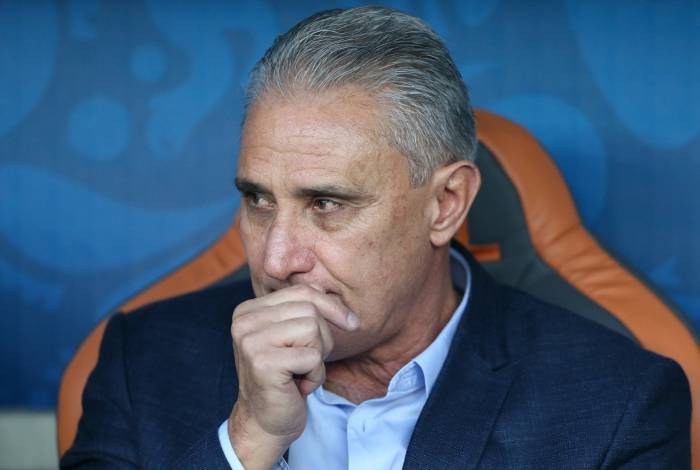 Tite, técnico da seleção brasileira: interesse menor da população