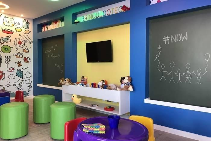 Para entreter a criançada nestas férias, condomínios têm espaços como atelier infantil, brinquedoteca, espaço kids e piscina