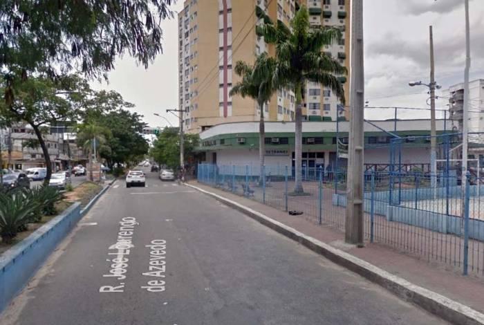 Homem foi baleado no bairro Rocha