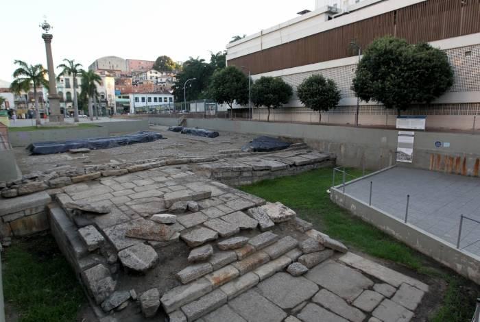 Declarado patrimônio imaterial pela UNESCO, Cais do Valongo precisa de manutenção
