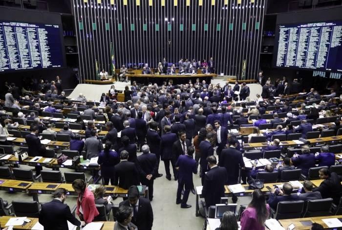 A Câmara discutiu destaques após a aprovação do texto-base