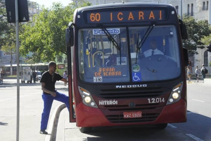 Ônibus não tiveram passagem reajustada em 2018