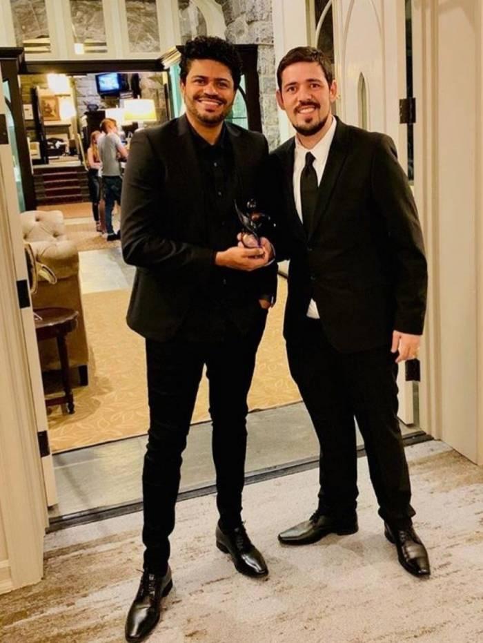 Douglas Oliveira e João Mendes empresários