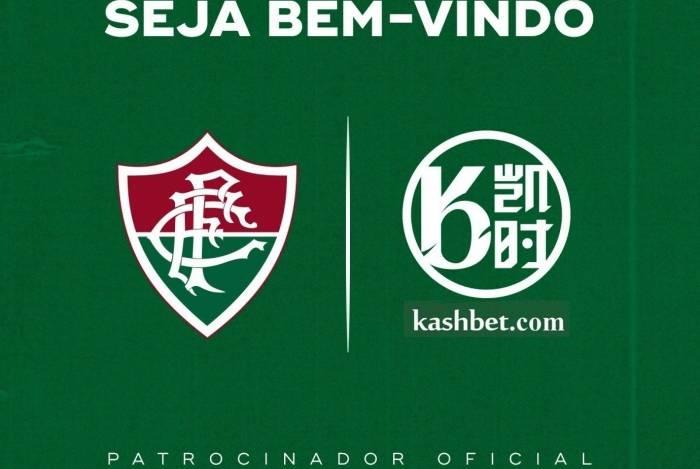 Kashbet é a nova patrocinadora do Fluminense