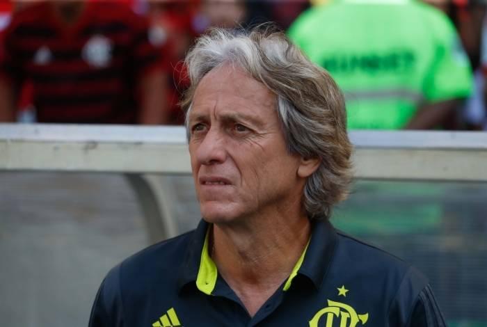 Técnico do Flamengo, Jorge Jesus terá um duelo fundamental hoje à tarde, no Maracanã, com o Palmeiras