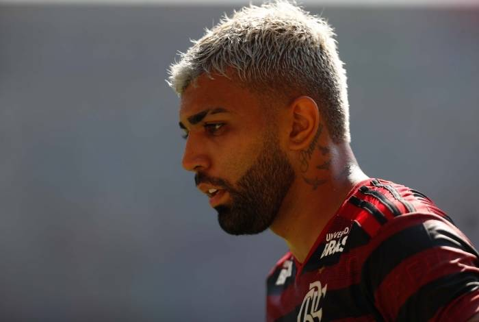 Gabigol marcou para o Flamengo