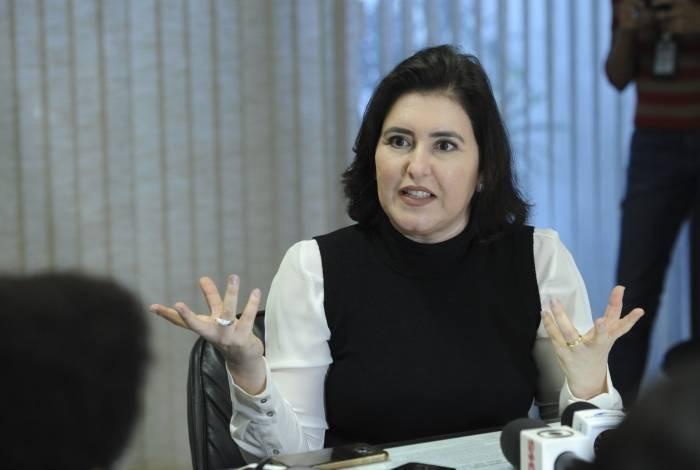 A senadora Simone Tebet (MDB-MS) prevê 60 dias para votação