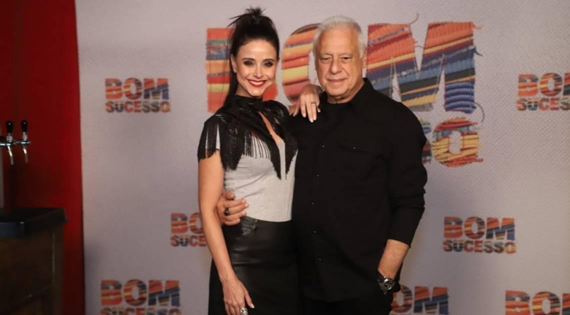 Alexandra Martins e Antônio Fagundes