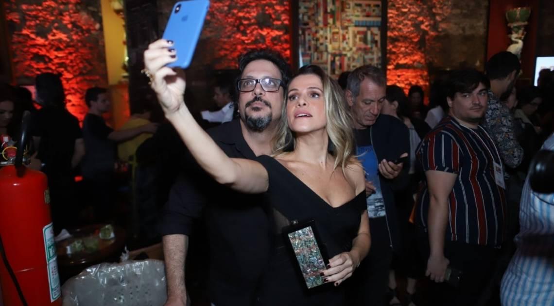 Lúcio Mauro Filho e Ingrid Guimarães