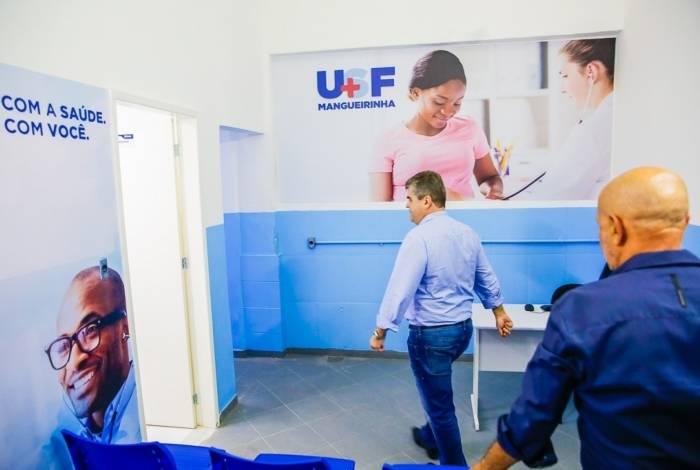 Washington Reis entrega novas unidades de saúde em Duque de Caxias