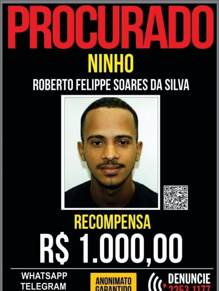 Recompensa é de R$ 1 mil