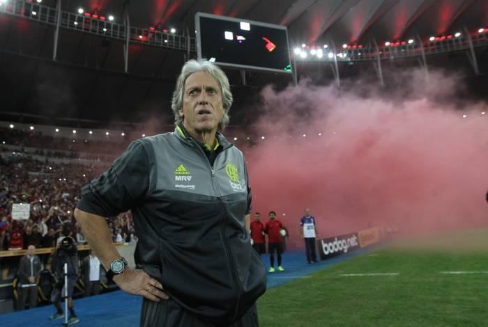 Jorge Jesus é considerado um trunfo do time: a chegada do técnico melhorou o astral da equipe