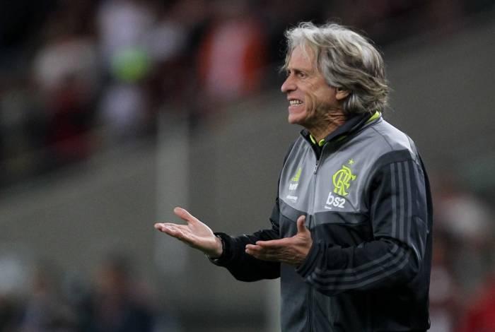 Técnico do Flamengo, Jorge Jesus será homenageado na Câmara