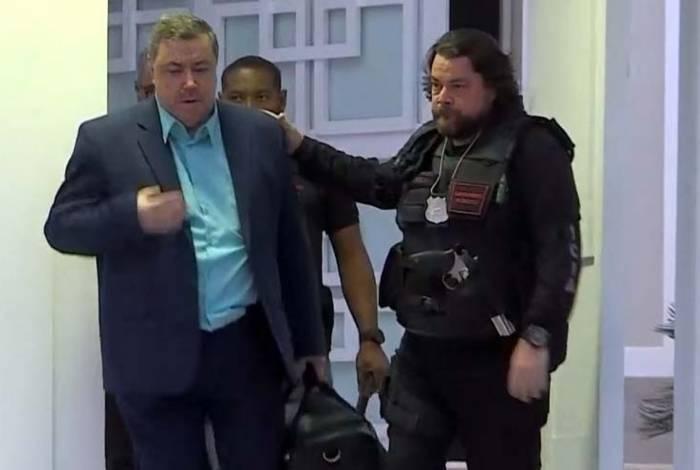 O contador português Luiz Felipe da Conceição Rodrigues foi preso em casa, em um condomínio de luxo na Barra