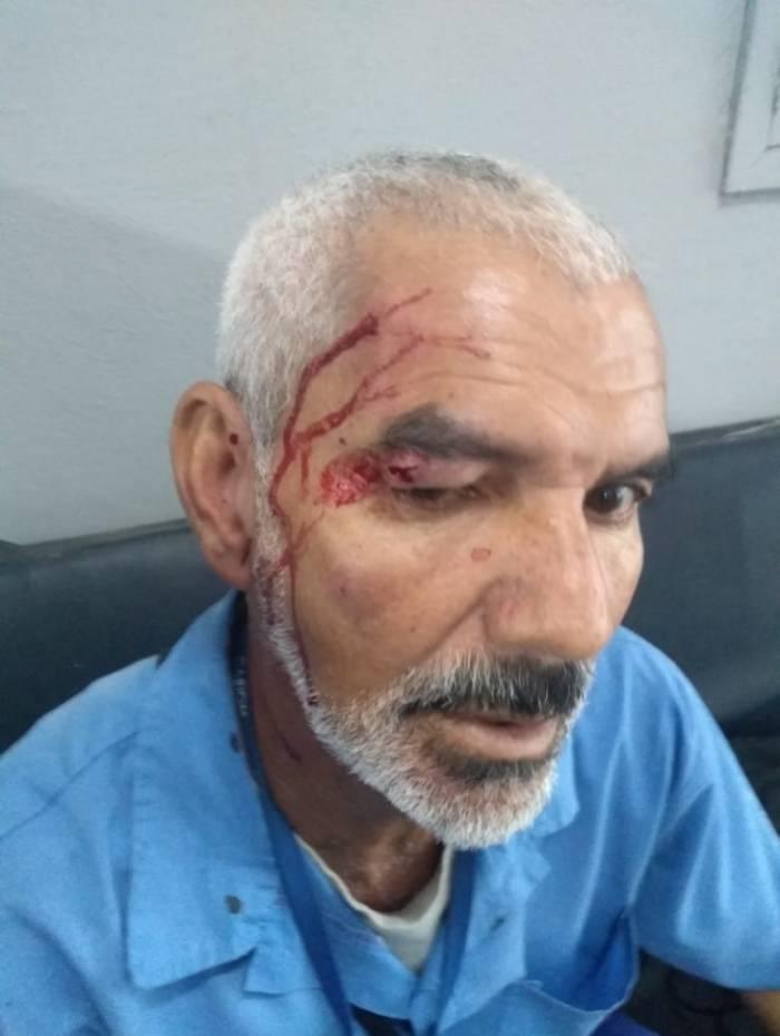 Luiz Carlos foi agredido com socos e pontapés