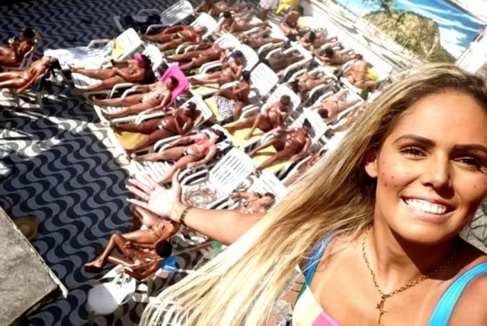 A empresária Priscila Bronze é responsável pelas marquinhas de Mulher Melão e Milena Nogueira