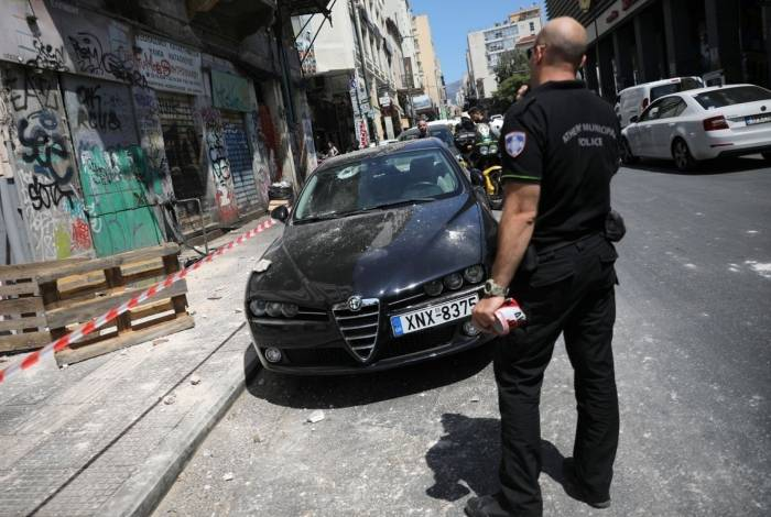 Terremoto atingiu a capital da Grécia