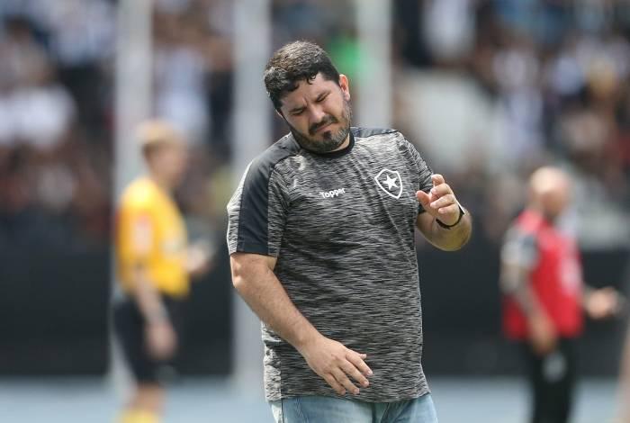 21/07/2019 - Botafogo x Santos pela 11 rodada do Campeonato Brasileiro no Estadio Engenhao no Rio de Janeiro. Foto: Daniel Castelo Branco / Agencia O Diad