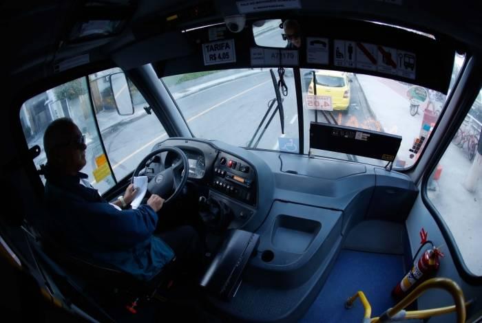 Rio, 22/07/2019, Circulação do onibus que vai para o Vidigal, na foto o onibus na altura no ponto final, Foto de Gilvan de Souza / Agencia O Dia