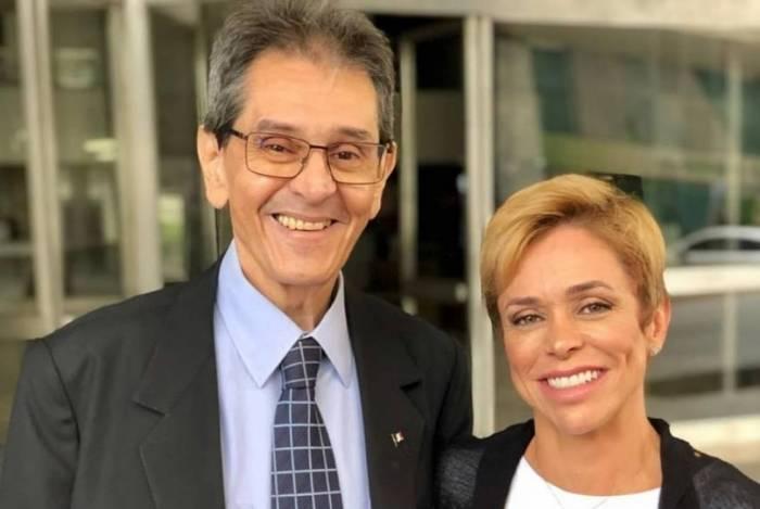 Roberto Jefferson e Cristiane Brasil