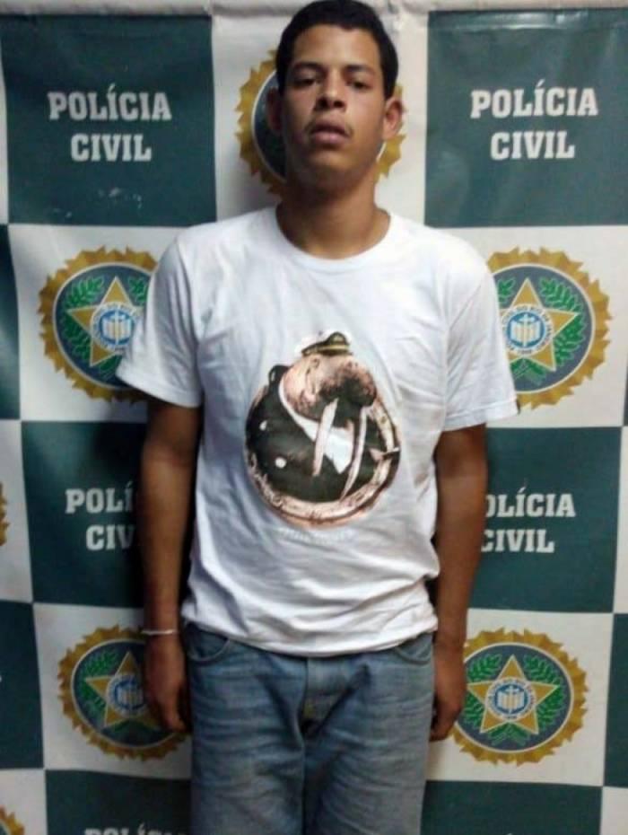Renato da Silva Santana foi preso nesta segunda