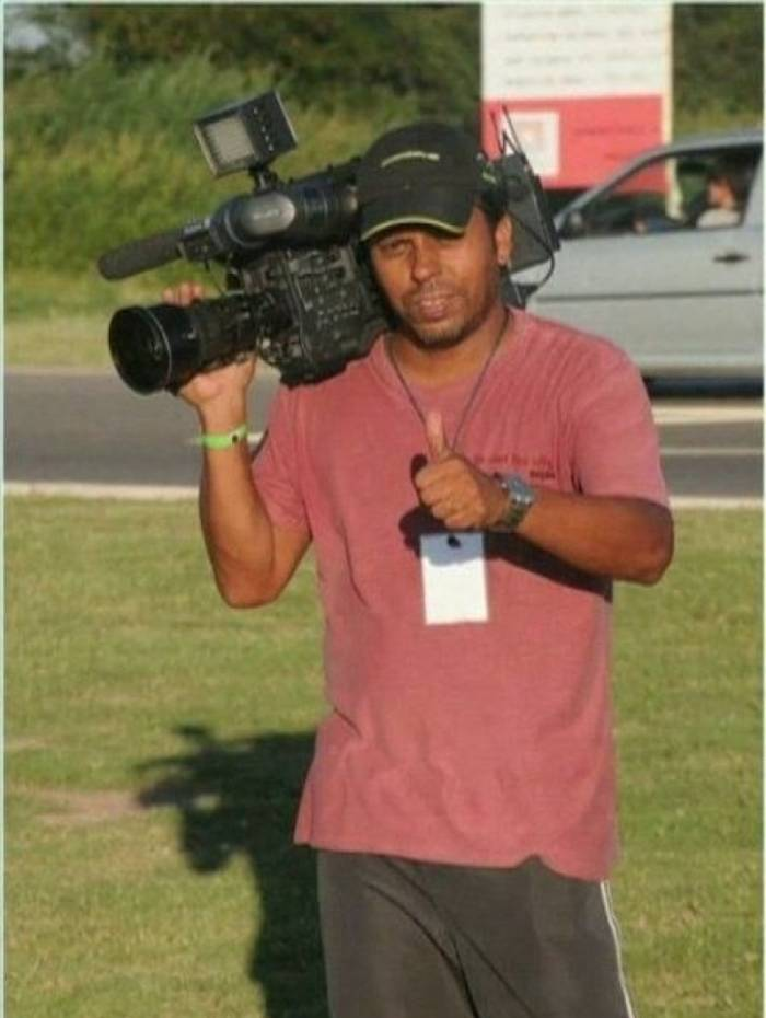 Cinegrafista Santiago Andrade foi morto, após ser ferido com um rojão na cabeça durante a cobertura de um protesto no Centro do Rio em fevereiro de 2019