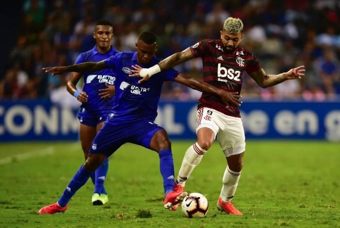 Flamengo foi derrotado pelo Emelec