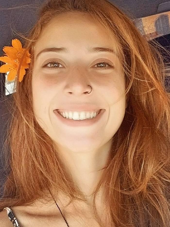 Denise Gasques, de 24 anos, foi arrastada durante a ressaca que atingiu o Rio de Janeiro