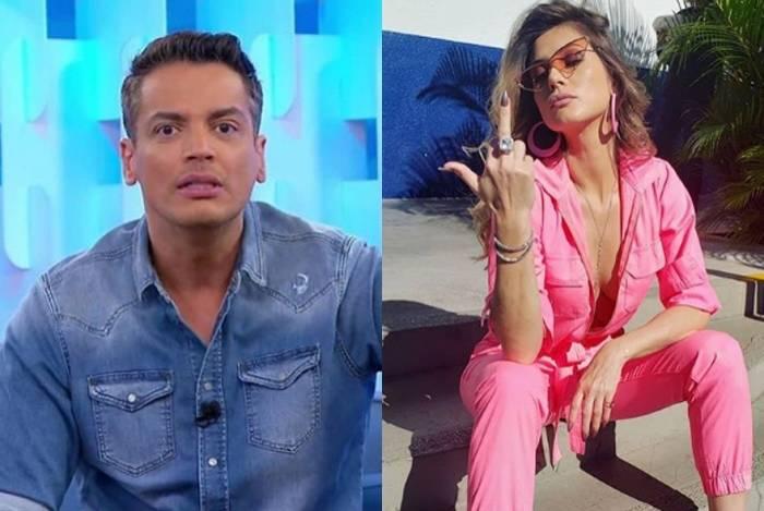 Ex-melhores amigos, Leo Dias e Lívia Andrade vivem trocando farpas