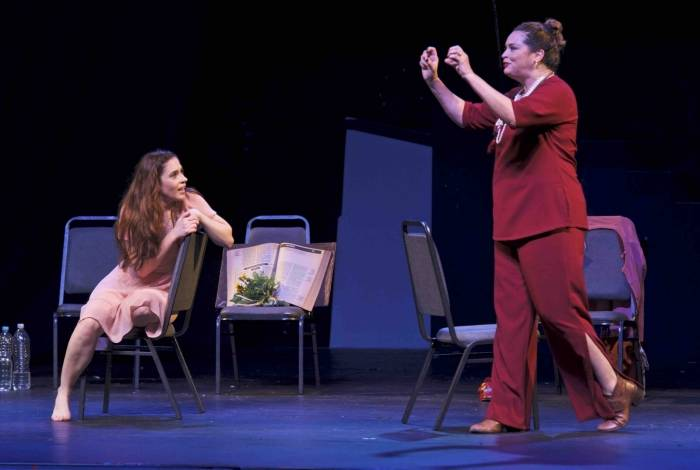 Cena de 'Mulheres de Shakespeare'