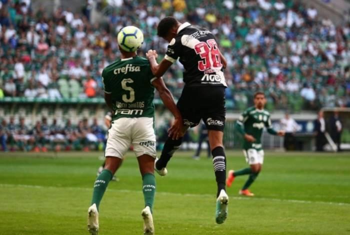 Vasco e Palmeiras, realizado na Arena Palmeiras pelo Campeonato Brasileiro de 2019.