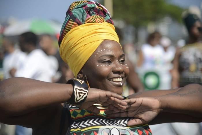 O Fórum Estadual de Mulheres Negras do Rio de Janeiro realizou pelo quinto ano consecutivo, a Marcha das Mulheres Negras, na orla de Copacabana