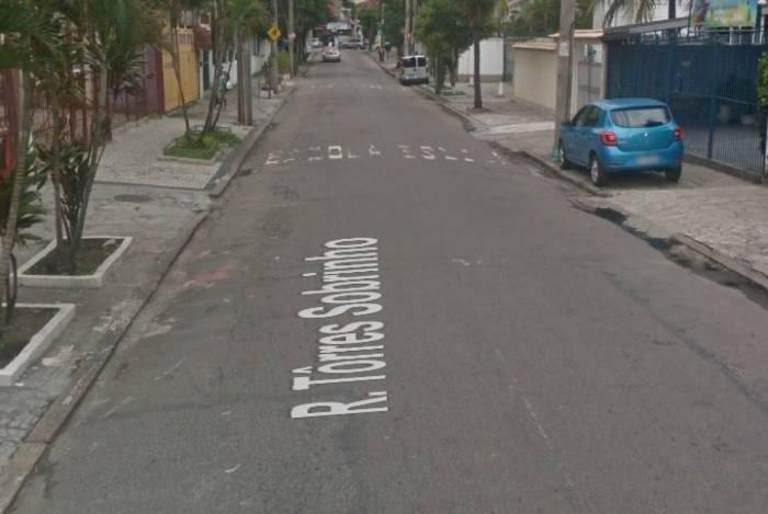 Suspeito foi preso na rua Torres Sobrinho, no Engenho Novo