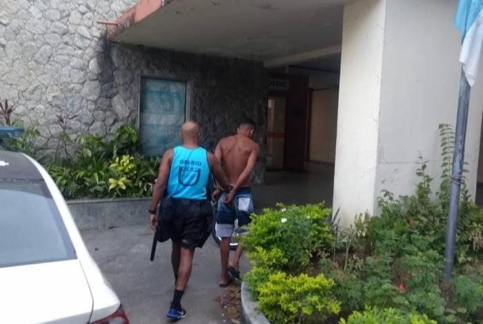 Assaltante detido em Ipanema