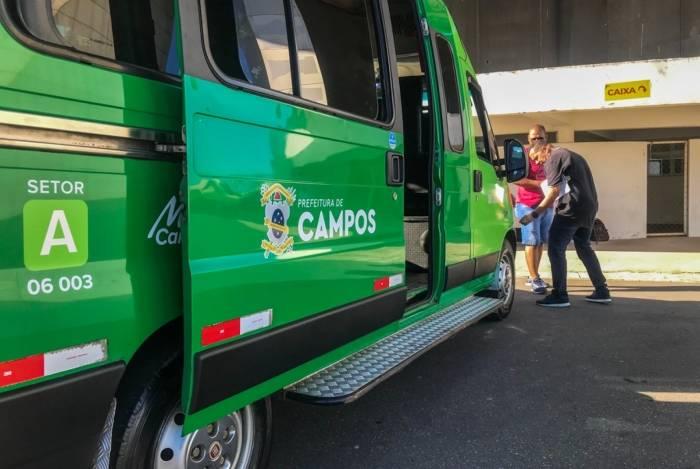 As primeiras vans vistoriadas devem voltar às ruas de Campos em duas semanas. Mais de 80 veículos já foram inspecionados