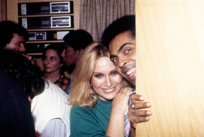 Rosemary e Gilberto Gil