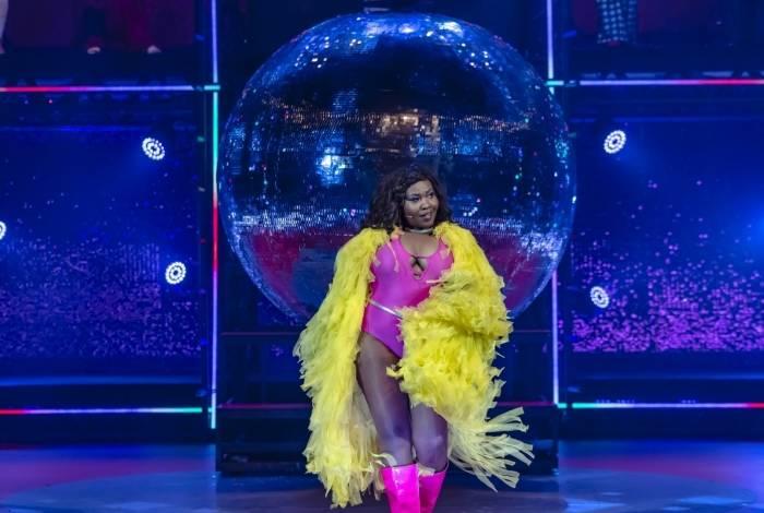Ariane em cena em 'O Frenético Dancin' Days'