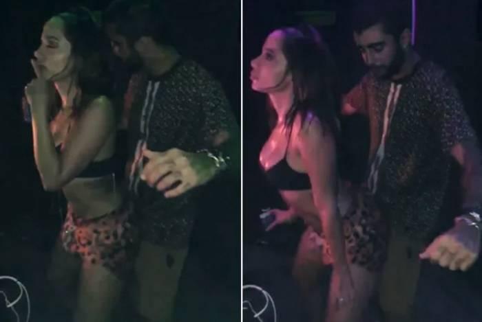 Anitta e Pedro Scooby em Ibiza